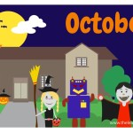 flashcard-months-october