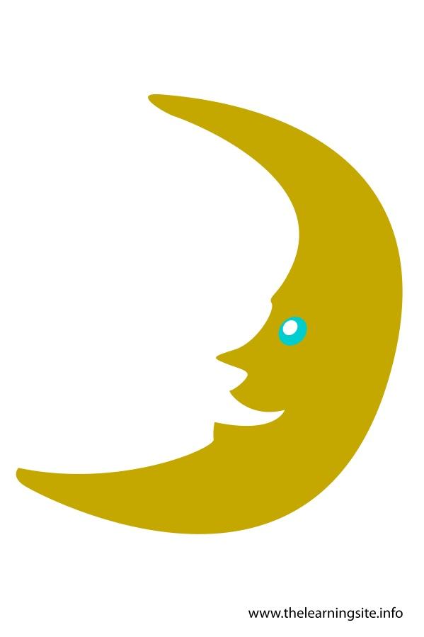 flashcard-moon