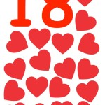flashcard-number-eighteen-hearts