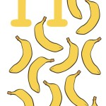 flashcard-number-eleven-bananas