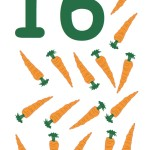 flashcard-number-sixteen-carrots