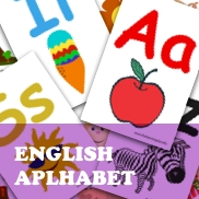 English Alphabet Flashcards Set 1