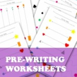 Shape Pre-writing Worksheets