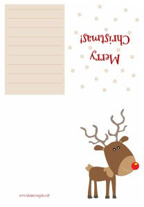 Christmas Card - Reindeer