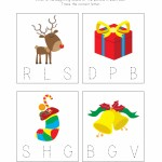 Christmas Phonics Worksheet 2