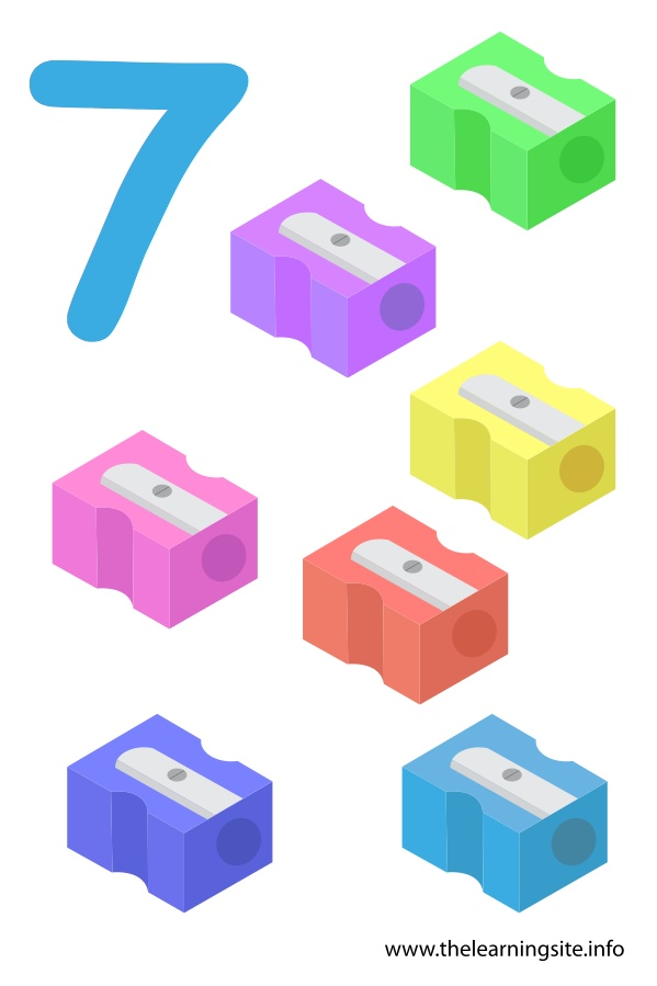 flashcard-number-seven-sharpeners