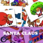 Santa Claus Flashcards (Premium Product)