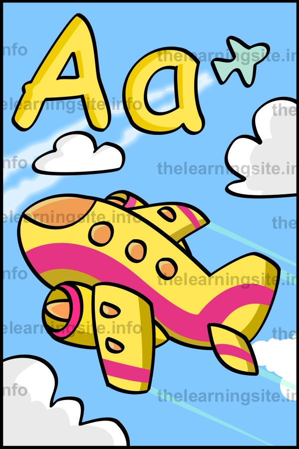 flashcard-alphabet-letter-a-airplane-sample