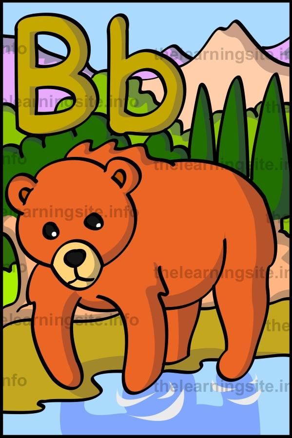 flashcard-alphabet-letter-b-bear-sample