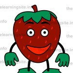 flashcard-fruit-characters-strawberry-sample