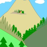 flashcard-nature-landforms-mountains