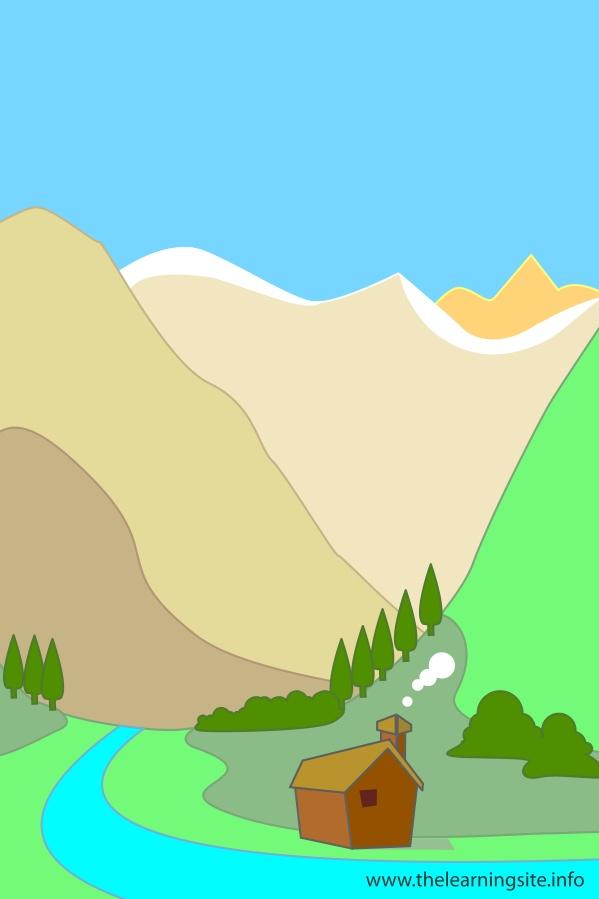 flashcard-nature-landforms-valley