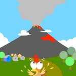 flashcard-nature-landforms-volcano