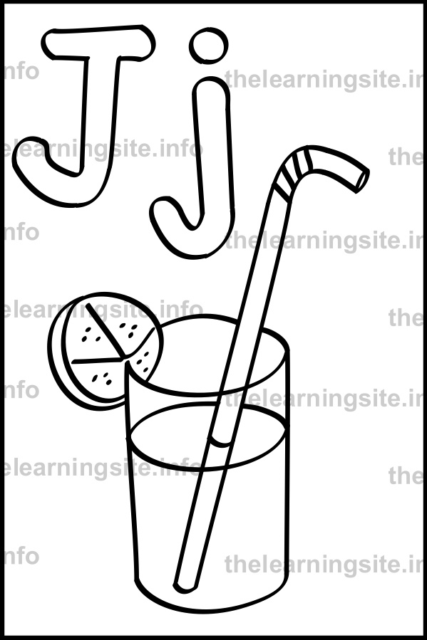 coloring-page-outline-alphabet-letter-j--simple-juice-sample