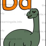 flashcard-alphabet-letter-d-simple-dinosaur-sample