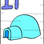 flashcard-alphabet-letter-i-simple-igloo-sample