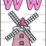 flashcard-alphabet-letter-w-simple-windmill-sample