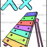 flashcard-alphabet-letter-x-simple-xylophone-sample