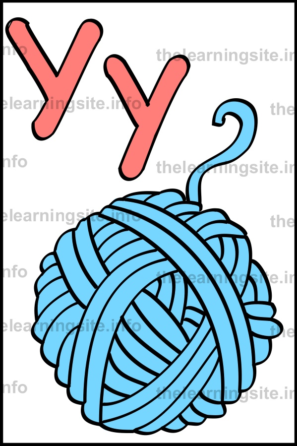flashcard-alphabet-letter-y-simple-yarn-sample