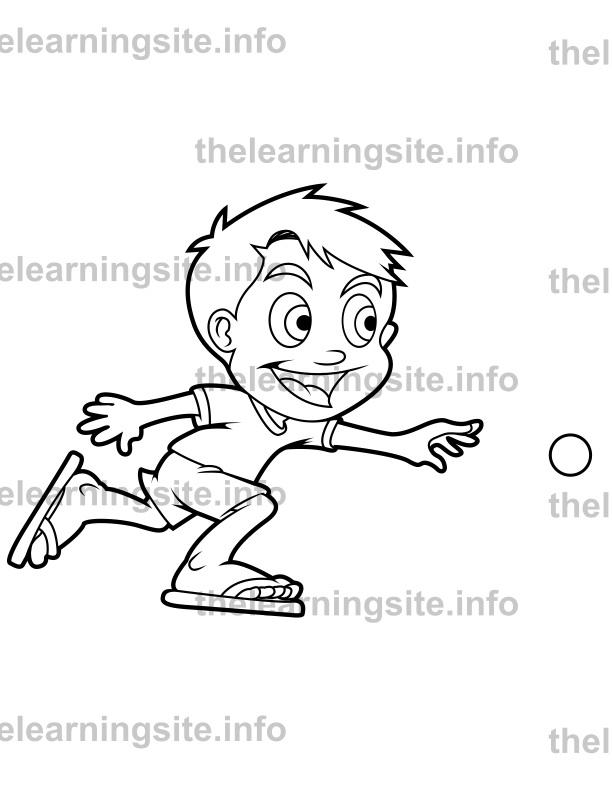 outline-boy_throwingball-sample