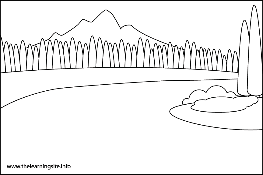River Coloring Page
