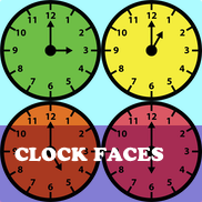 Clock Faces Flashcards
