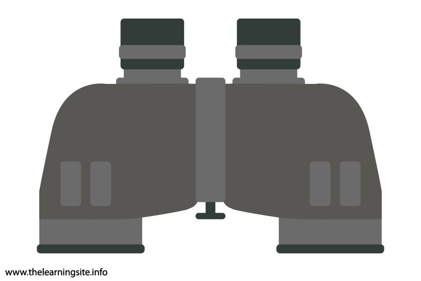 Science Tool Binoculars Flashcard